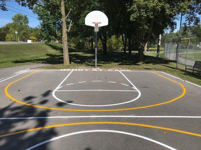 3 Point Arc for Basketball Key (Large)