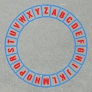 Giant ABC Circle