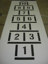 Blocks Hopscotch