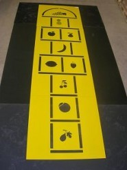 Choose Fruit Hopscotch