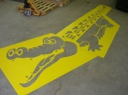 Crocodile Hopscotch