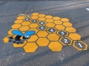 Bee Hive Hopscotch