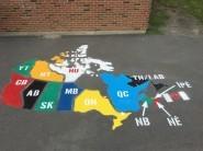 O'Canada! (Map of Canada)