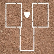 Batter's Boxes, Pro. Style (Full Size)