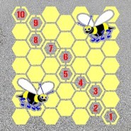 Bee Hive Hopscotch