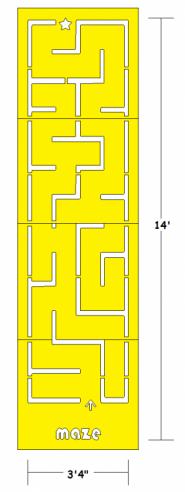 Sidewalk Maze