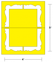 Playground Picture Frame