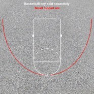 3 Point Arc for Basketball Key (Small)